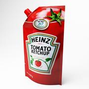 Ketchup Doypack 3d model