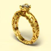 ring 0016 AK 3d model