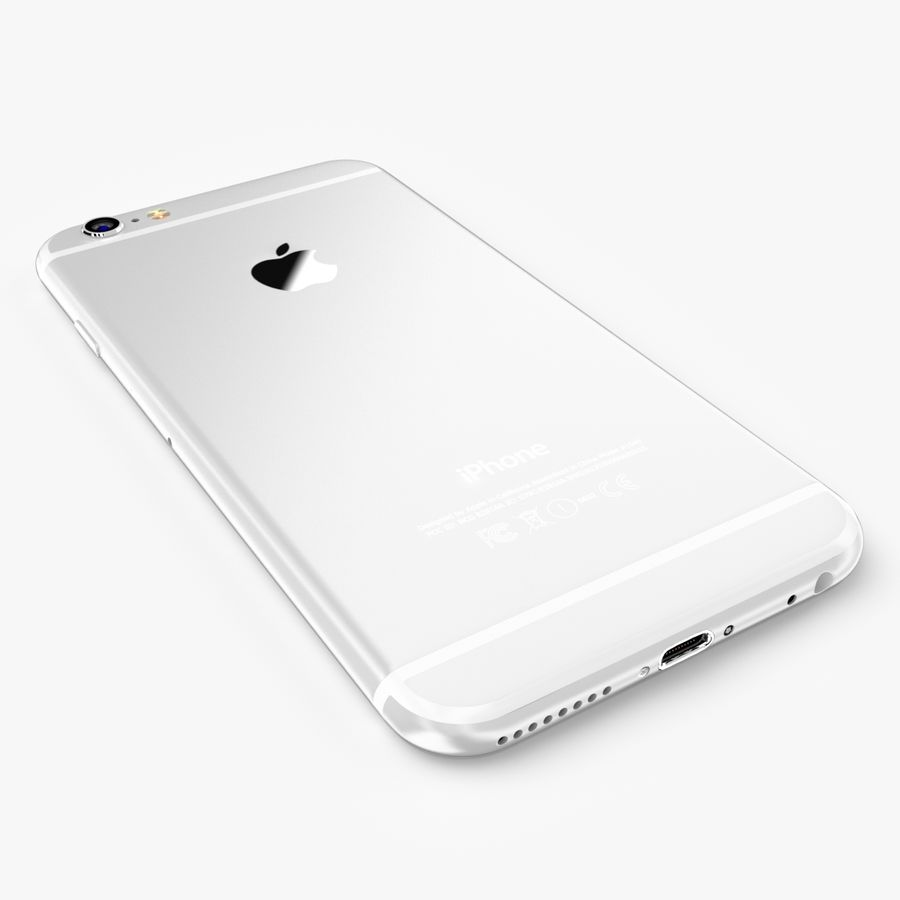 Apple iPhone 6S Plus royalty-free 3d model - Preview no. 17
