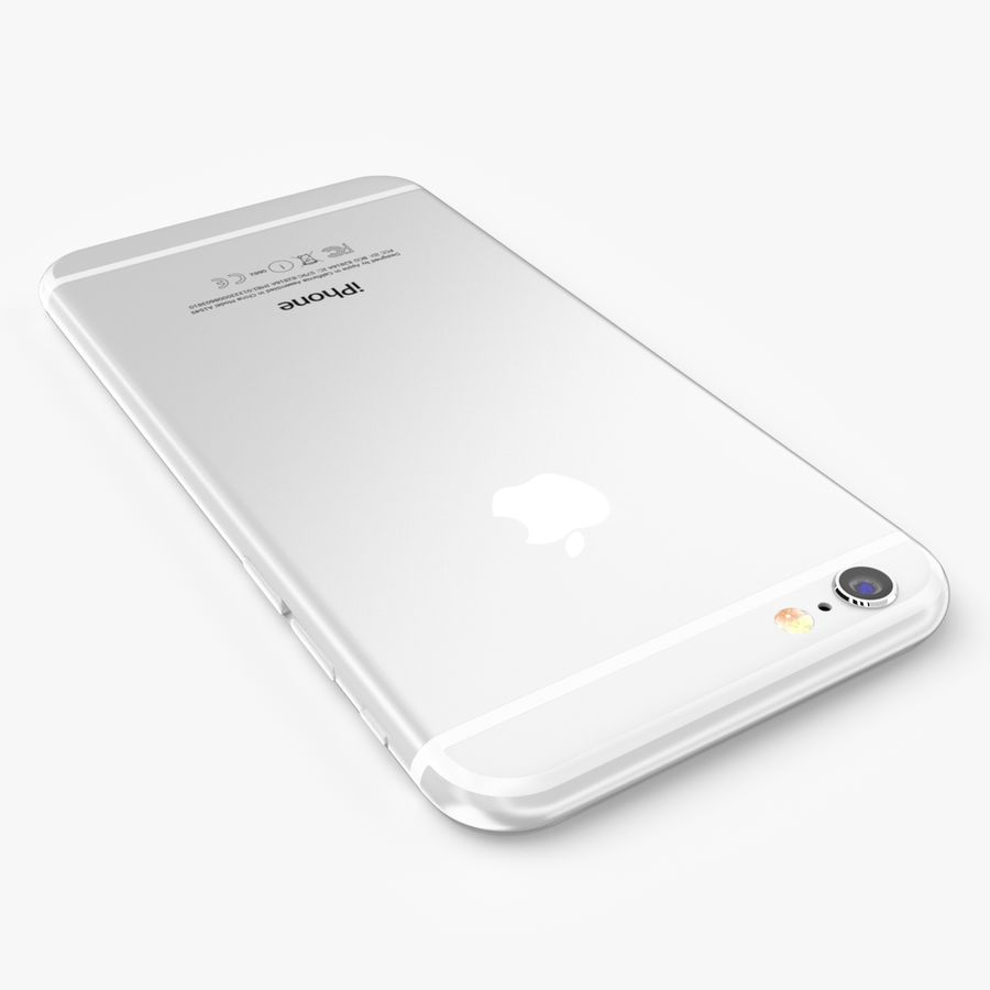 Apple iPhone 6S Plus royalty-free 3d model - Preview no. 13
