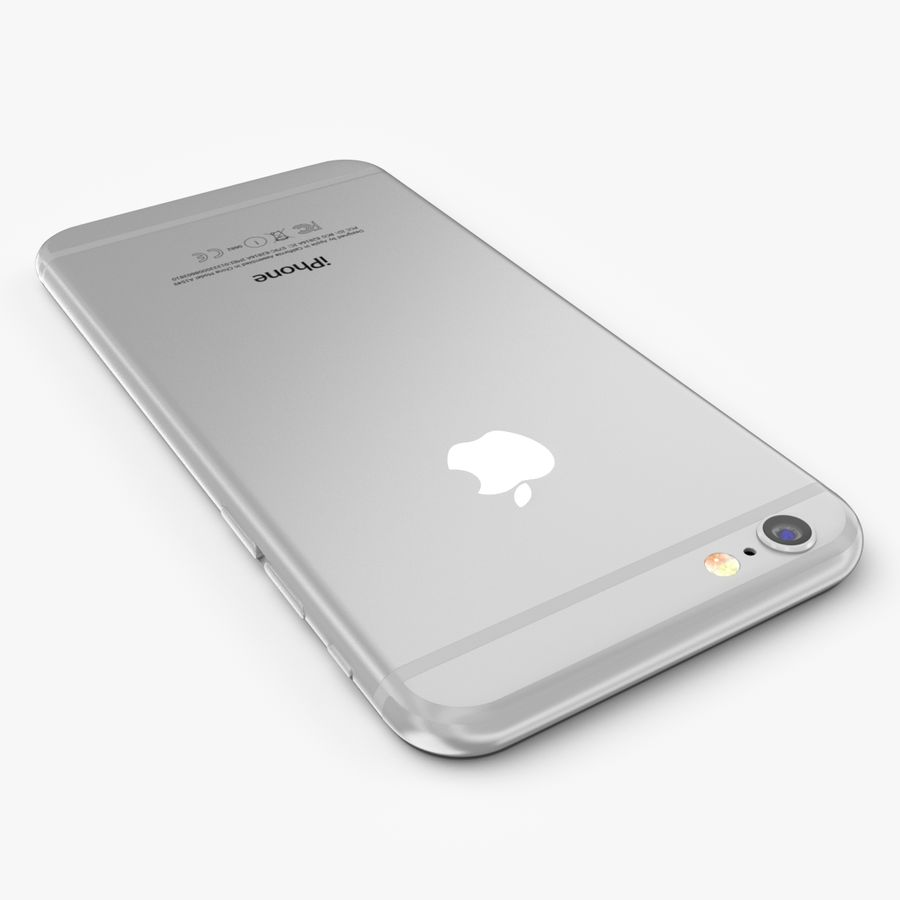 Apple iPhone 6S Plus royalty-free 3d model - Preview no. 10