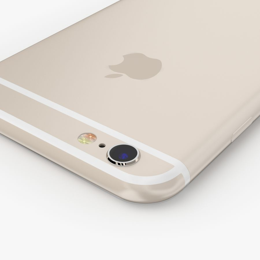 Apple iPhone 6S royalty-free modelo 3d - Preview no. 21