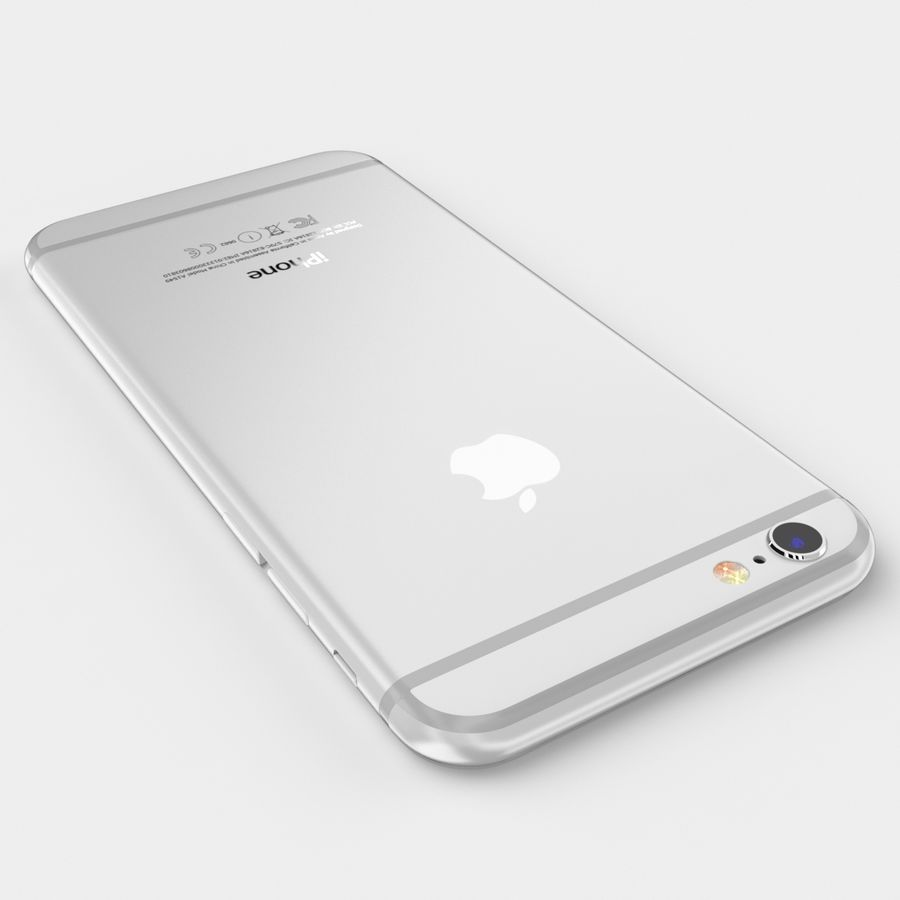 Apple iPhone 6S royalty-free modelo 3d - Preview no. 11