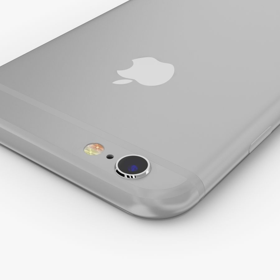 Apple iPhone 6S royalty-free modelo 3d - Preview no. 22