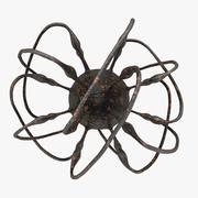 ヒトコクサッキーウイルス(黒) 3d model