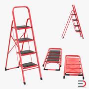 Step Ladder 3D Models Set 3d model