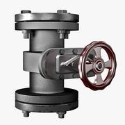 Tubulação da indústria 3d model