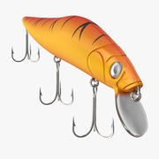 Bass Fishing Lure 3d model