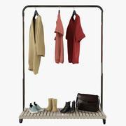 Вешалка для одежды 3d model
