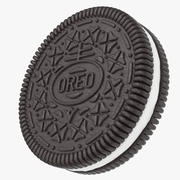 Biscuit Oreo 3d model