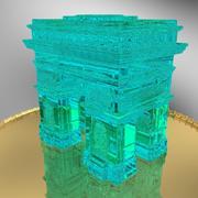 Arc de Triomphe Tower 3d model