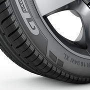 Car Tyre Model 3d model