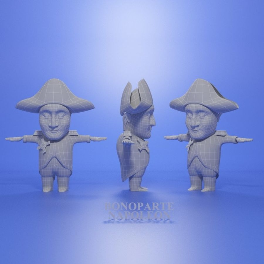 Famous people royalty-free 3d model - Preview no. 11