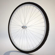 Neumático de bicicleta modelo 3d