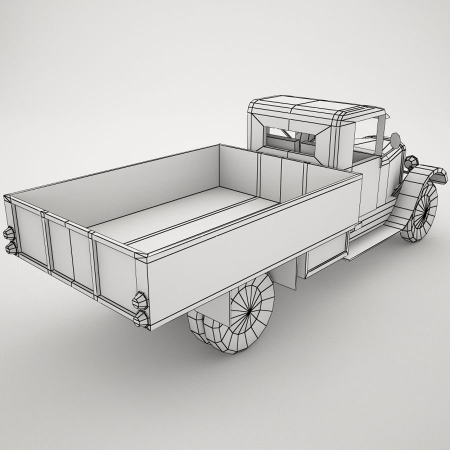 卡车 royalty-free 3d model - Preview no. 7