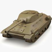 Czołg 3d model