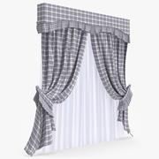 Curtain 30 3d model