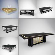 Pack table basse 3d model