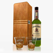 Jameson Whiskey Set 3d model