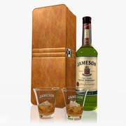 詹姆森威士忌套装 3d model