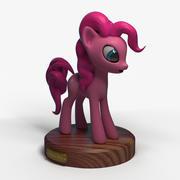 Pinkie Pie Pony 3d model