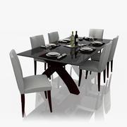 餐桌套装 3d model