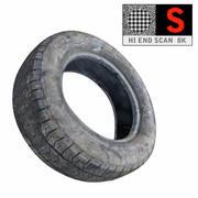 Flat Tyre 8K game ready 3d model