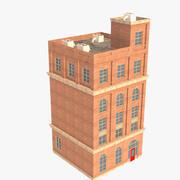 Düşük Poli Bina 2 3d model