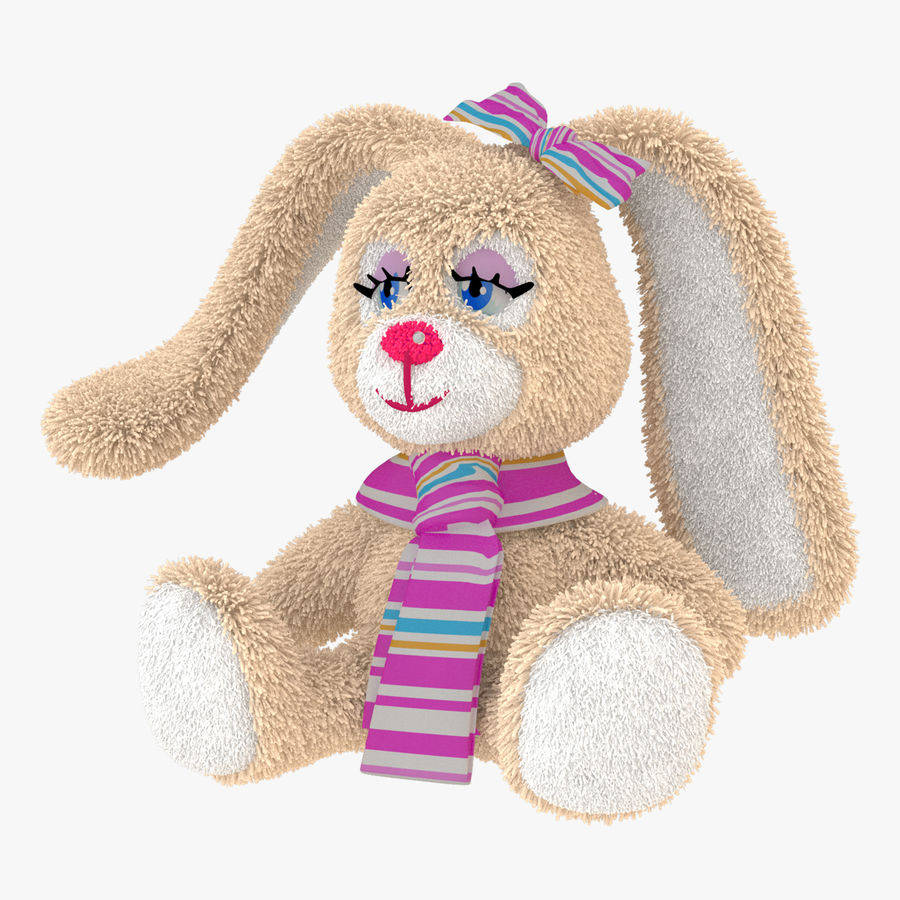 Toy Rabbit royalty-free 3d model - Preview no. 1