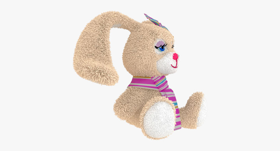 Toy Rabbit royalty-free 3d model - Preview no. 4