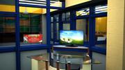 education centre 3d model