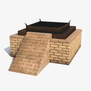 Altar de pedra 3d model