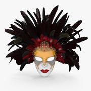 Venetian Carnival Mask 3d model