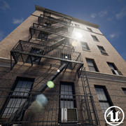 New York Building 3d model