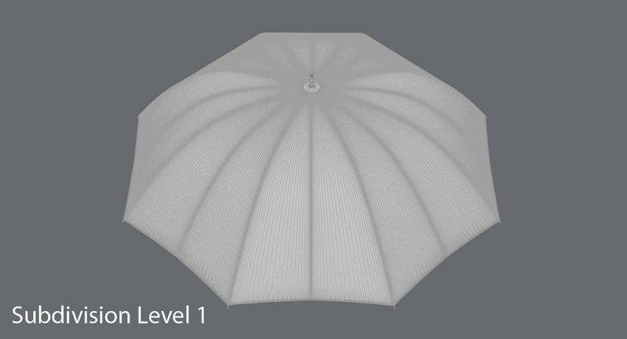 Otwórz czerwony parasol royalty-free 3d model - Preview no. 16