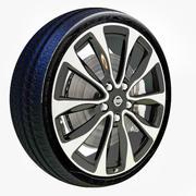 Roda Nissan Maxima 3d model