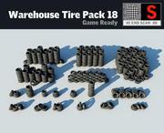 Warehouse Tyre Pack 18 3d model