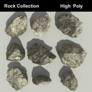 Collection Rock 3d model