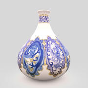 Vase Japanese Porcelain 3d model