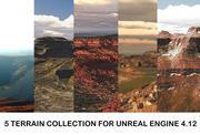 Kolekcja terenu 3d model
