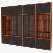 Boekenkast 3d model