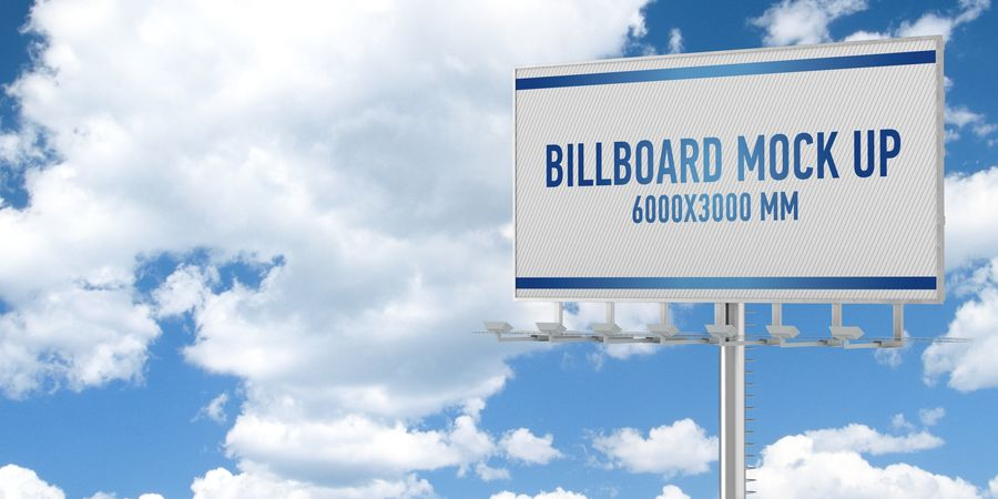 Billboards royalty-free 3d model - Preview no. 4