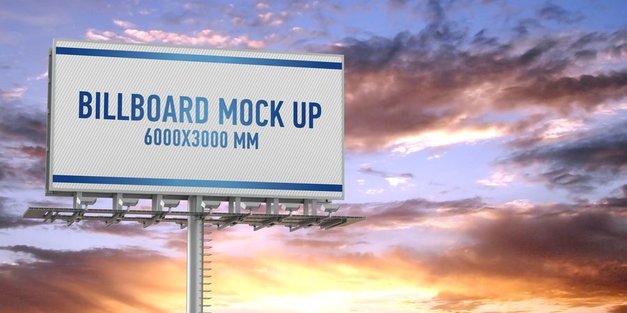 Billboards royalty-free 3d model - Preview no. 10