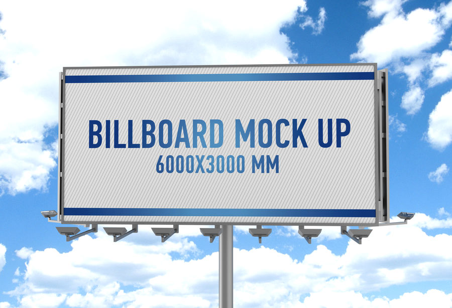 Billboards royalty-free 3d model - Preview no. 34