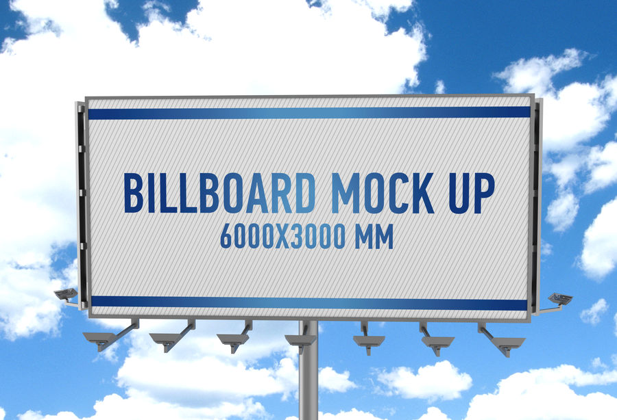 Billboards royalty-free 3d model - Preview no. 31