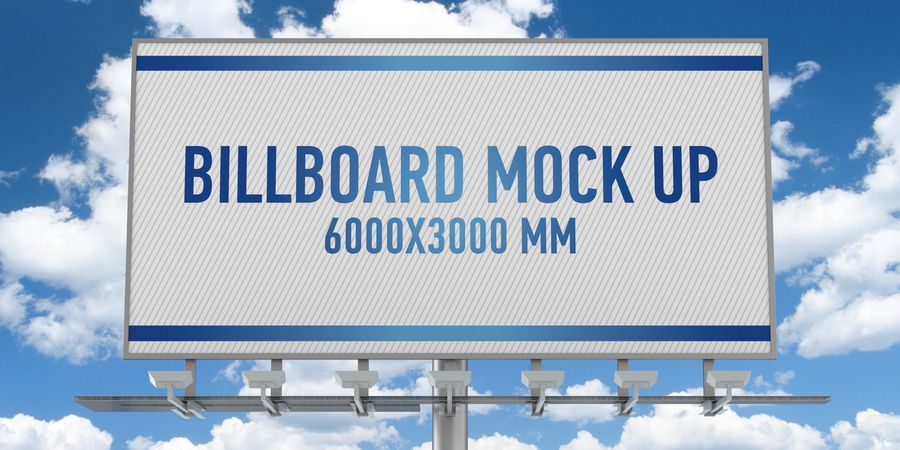 Billboards royalty-free 3d model - Preview no. 7