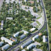 Park Landscape 4 3d model