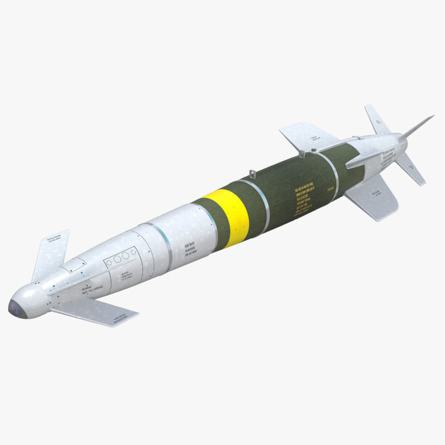 Spice-2000 Guided Bomb royalty-free 3d model - Preview no. 1
