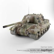 German tank Sd Kfz 186 Jagdtiger