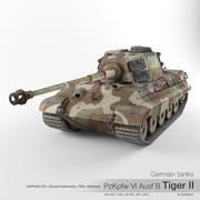 ドイツ戦車PzKpfw VI Ausf B Tiger II '008' 3d model